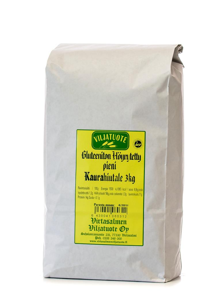 Gluteeniton kaurahiutale pieni, 3kg