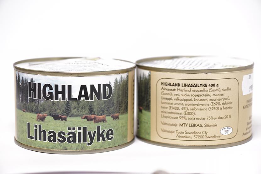 Highland lihasäilyke