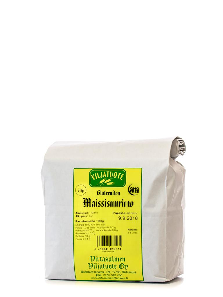 Maissisuurimo, 3kg