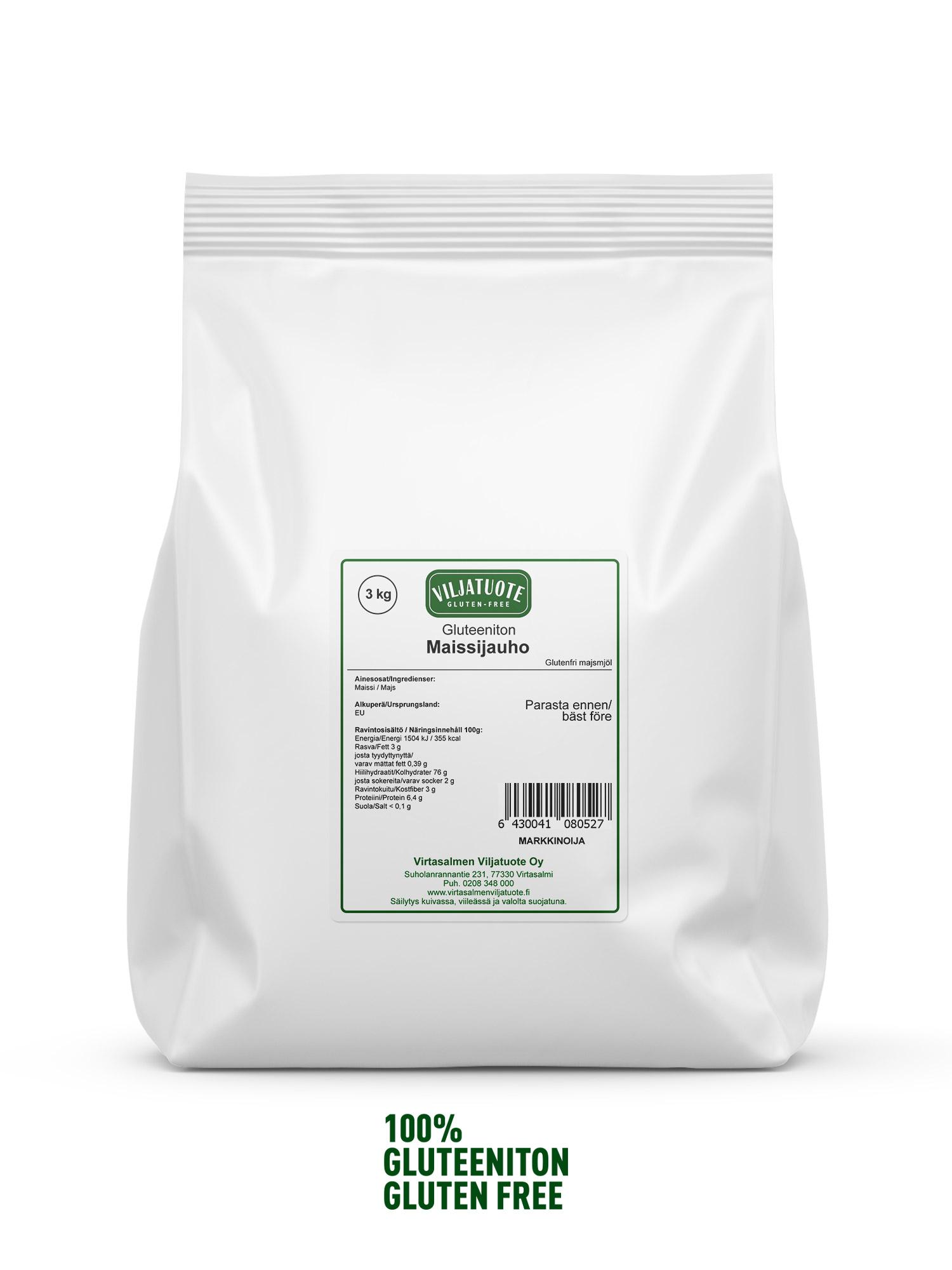 Maissijauho, 3kg