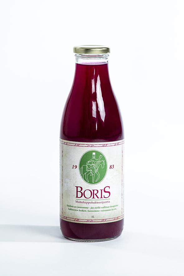 Boris maitohappopakteerijuoma 1,0L