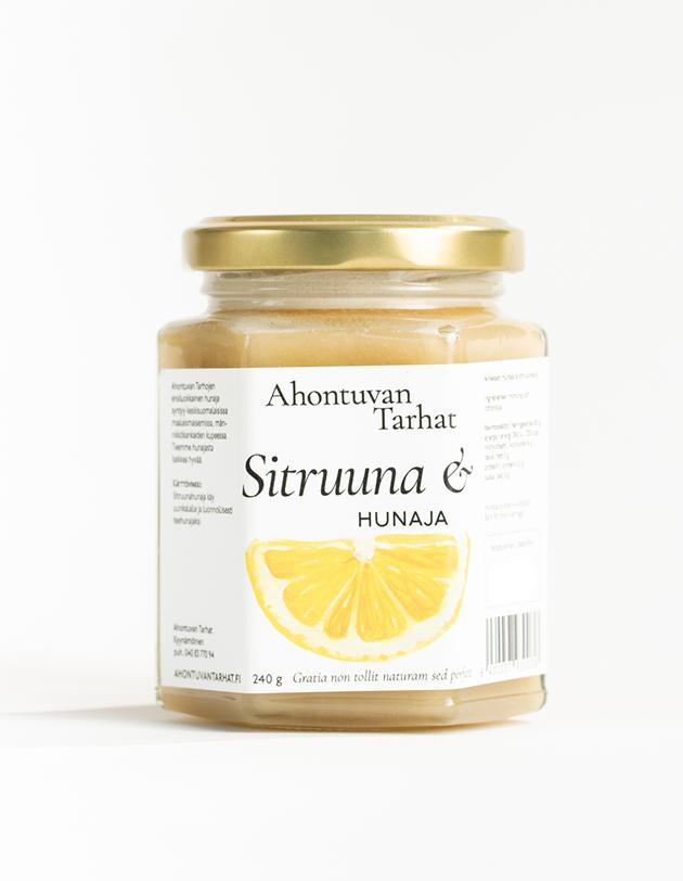 Sitruunahunaja